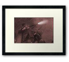 Fire!! sepia Framed Print