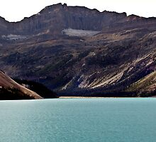 Bow Lake (1) by Jann Ashworth