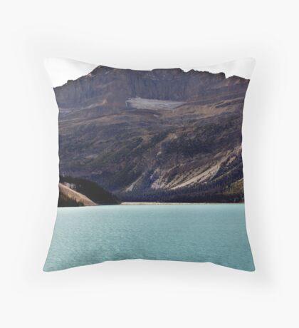 Bow Lake (1) Throw Pillow