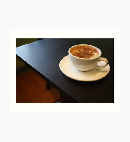 Coffee Cups 4 Art Print