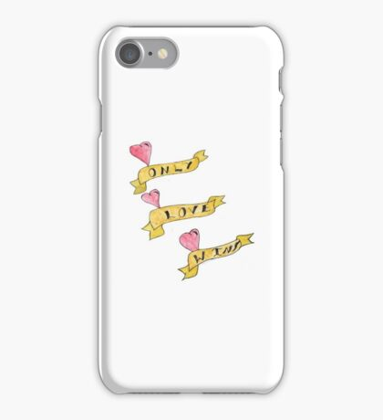 Only Love Wins iPhone Case/Skin