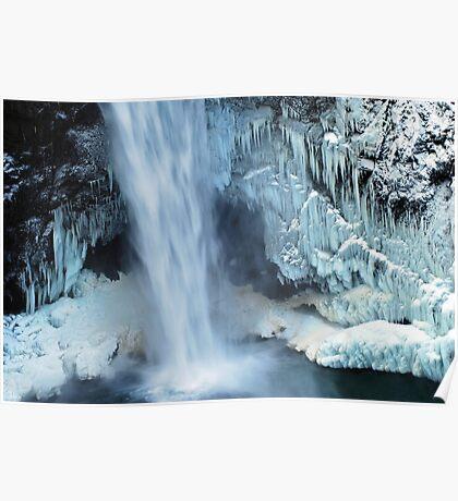 Frozen Winter Falls Poster