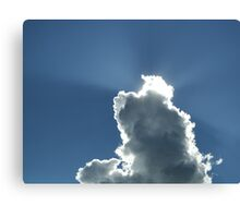 Cloud... free State, South Africa Canvas Print
