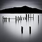 Sausalito - San Francisco B&W by LukeAustin
