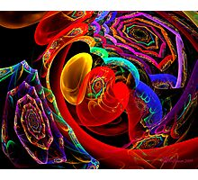 Lots of Spiral and a Heart Photographic Print
