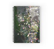Wall Daisies  Spiral Notebook