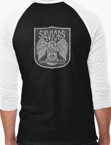 TRhe Walking Dead Factions:  Saviors Men's Baseball ¾ T-Shirt