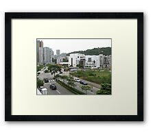 an incredible Macau landscape Framed Print