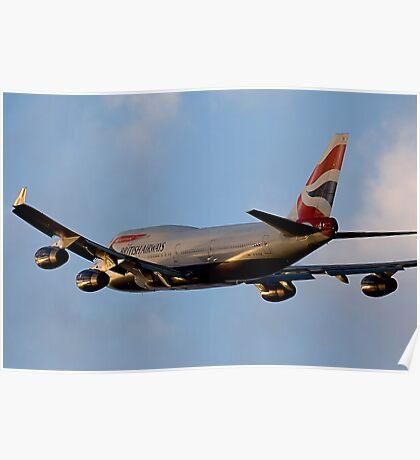 British Airways 747 Departure Poster