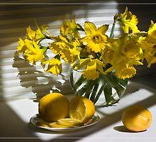 Yellow  Morning. by Valentina Gatewood