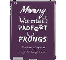 Purveyors of Aids to Magical Mischief-Makers iPad Case/Skin