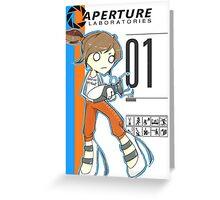 Aperture Labs Greeting Card
