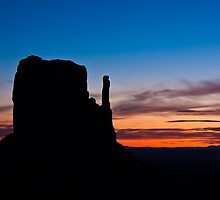 West Mitten Silhouette by Nickolay Stanev