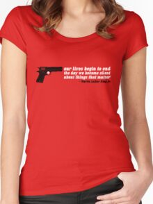 silencer [reloaded] Women's Fitted Scoop T-Shirt
