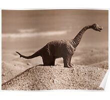 "Miami Jurassic Park dinosaur ""Mathilda"" Poster"