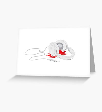 Hearing Damage Greeting Card