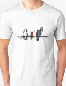 3 Birds on a Wire T-Shirt
