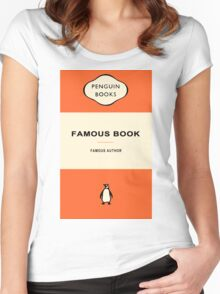 Penguin Books Women's Fitted Scoop T-Shirt