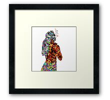 Body music Framed Print