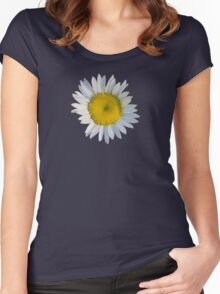 Crazy daisy Women's Fitted Scoop T-Shirt