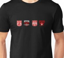 the four factions Unisex T-Shirt