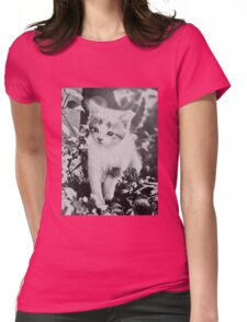 The Most Fabulous Cat Ever Seen Womens Fitted T-Shirt