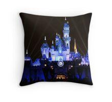 60th Celebration Castle Throw Pillow