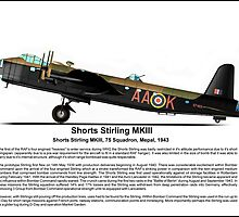 Short Stirling MKIII Profile by coldwarwarrior