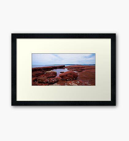 Bar Beach,NSW Framed Print