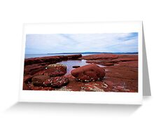 Bar Beach,NSW Greeting Card