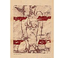 erotic nude 3 Photographic Print
