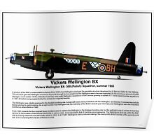 Vickers Wellington BX Profile Poster