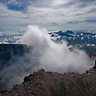 Mt Kerinci summit, Sumatra Indonesia by Naomi Brooks
