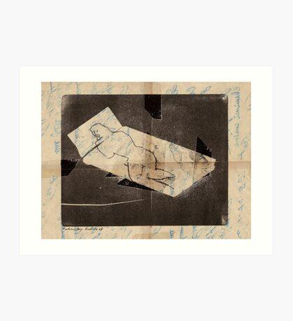 nude 6 Art Print