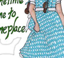 Dorothy in Oz Sticker