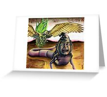 """Muertos"" Greeting Card"