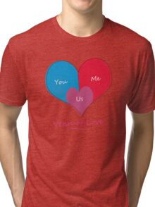 Venn of Love Tri-blend T-Shirt