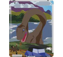 Visit Loch Ness - Brown iPad Case/Skin