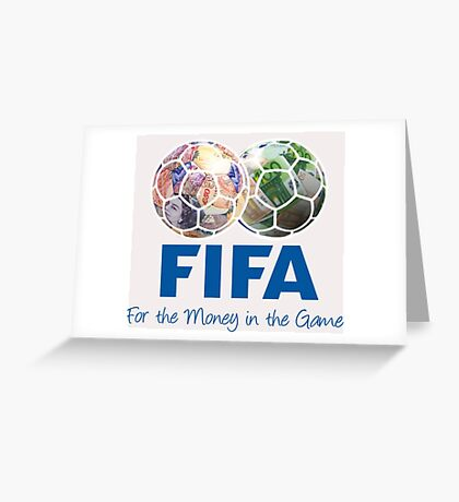 FIFA (Red card) Greeting Card