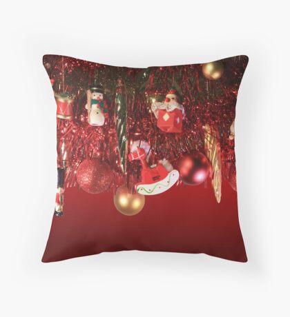 christmas tree 3 Throw Pillow
