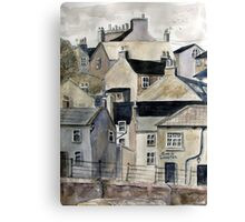 The Sea Front, Staithes Canvas Print