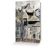 The Sea Front, Staithes Greeting Card