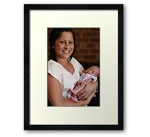 The First Meeting Framed Print