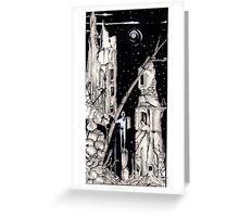 A Monument To Misfortune  Greeting Card