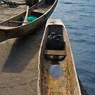 Boats - Lake Toba, Sumatra Indonesia by Naomi Brooks