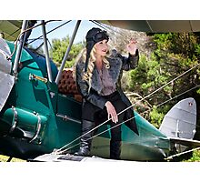 Flygirl Jacqui Photographic Print