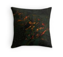 Magic colours. Throw Pillow