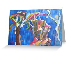 Andando oltre il tempo... - Going over time Greeting Card