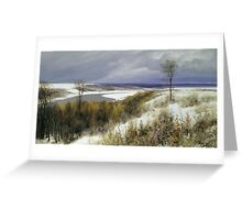 a stunning Russia landscape Greeting Card