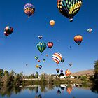 Great Reno Balloon Race by Justin Baer